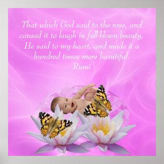 Rumi skönhet affischer