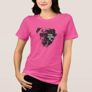 Rund halsdamutslagsplats med den Jody designen T-shirts