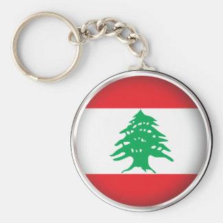 Runda Libanon Rund Nyckelring