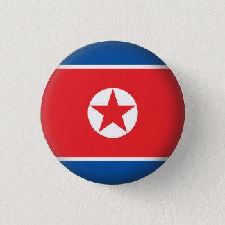 Runda Nordkorea Mini Knapp Rund 3.2 Cm