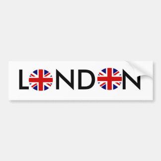 Runda runda, LONDON Bildekal