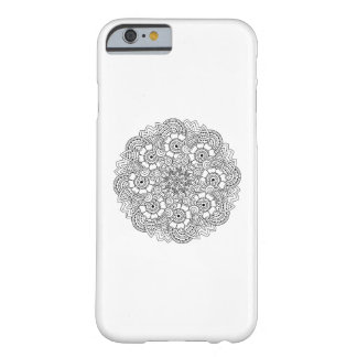 Rundadesignklotter Barely There iPhone 6 Fodral