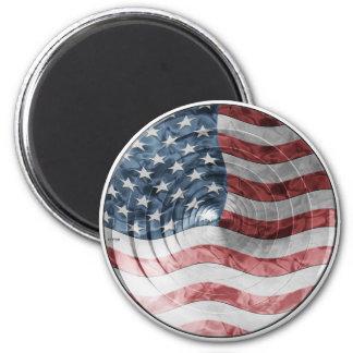 Rundaflagga Magnet