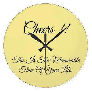 Rundan tar tid på… stor klocka