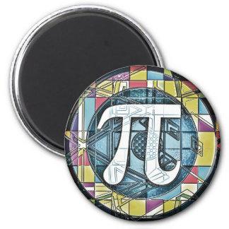 Rundor för Pi-dagsymbol Magneter