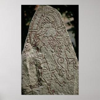 Runic sten affischer