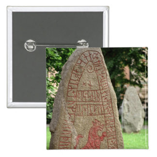 Runic sten standard kanpp fyrkantig 5.1 cm