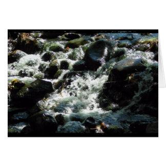 Rusafloden Hälsningskort