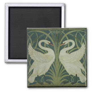 """Rusar Iris svanen, och"" tapetdesign Magnet"