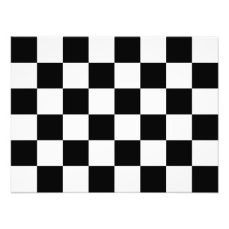 Rutig rutig flagga för Auto tävla Fotontryck