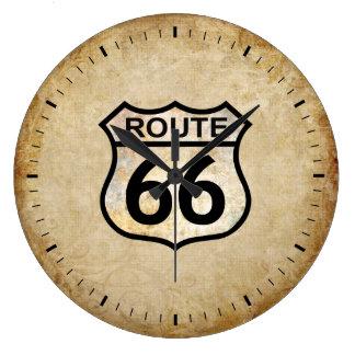 Rutt 66 stor klocka