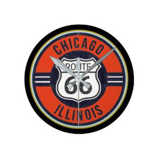 RUTTEN 66 CHICAGO - ta tid på Rund Klocka