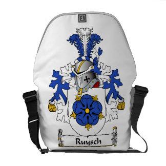Ruysch familjvapensköld messenger bag