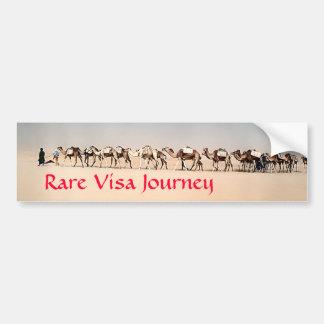 RVJ-, salta husvagnen i Sahara Bildekal