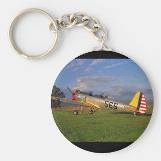 Ryan PT-22, WWII_Classic flyg Rund Nyckelring