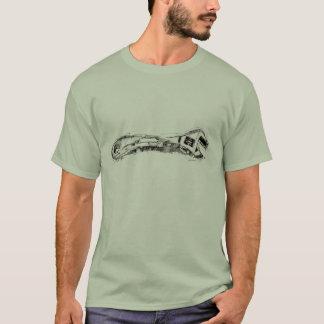 Rycka häftig handymannen tee shirt