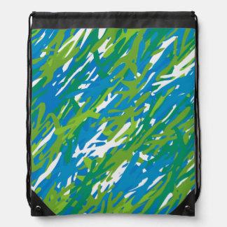 Ryggsäck för Drawstring för Eco grönt- &
