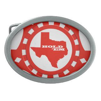 Rym dem pokerchipen som bältet spänner fast (rött)