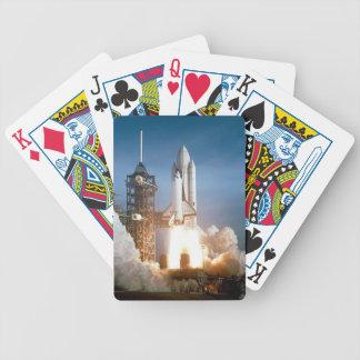 RymdfärjaColumbia lansering Spelkort