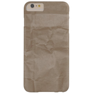 Rynkig papper strukturdesign barely there iPhone 6 plus skal