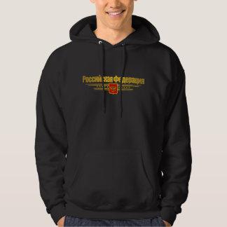Rysk federationflagga & Emblem Sweatshirt