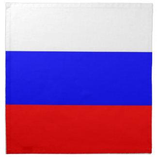 Rysk flagga på den MoJo servetten Näsduk