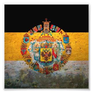 Rysk väldeflagga fototryck