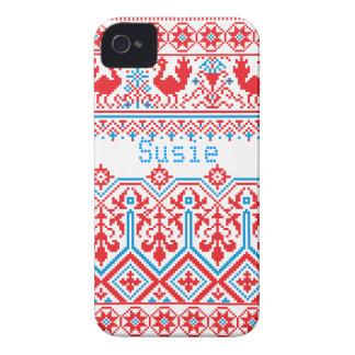 ryssjulblackberry bold täcker fodral iPhone 4 fodraler