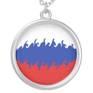 Ryssland Gnarly flagga Anpassningsbar Halsband