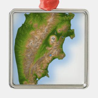 Ryssland Kamchatka peninsula Julgransprydnad Metall