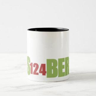 S124BER-mugg Två-Tonad Mugg