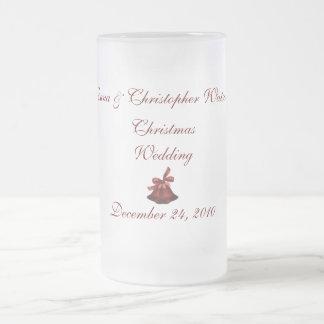 """____s att gifta sig för jul """", frostat ölglas"""