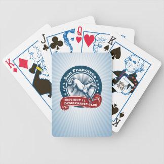 S.F. Demokratisk officiell för klubb som D11 leker Spelkort
