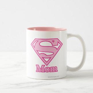 S-Skydda mamman Två-Tonad Mugg