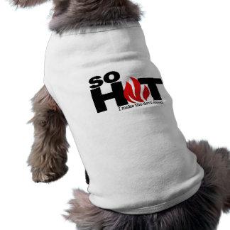 Så älsklings- bekläda för hett hundtröja