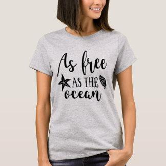 Så fritt som hav tee shirts