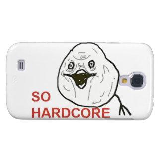 Så Hardcore komiskt ansikte Galaxy S4 Fodral