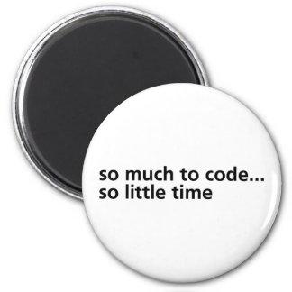 Så mycket som ska kodifieras… magnet