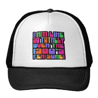 Så över 80-tal! baseball hat