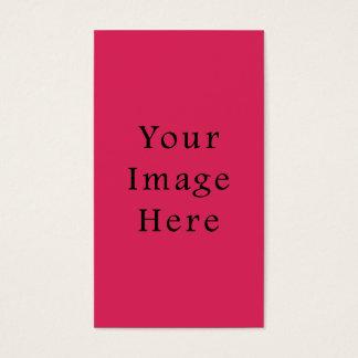 Så tom mall för shock rosafärgtrend visitkort