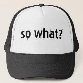 """""""Så vad?"""", favorit- sak för s som ska sägas Keps"""