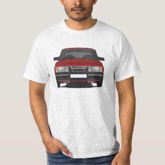 Saab 900 (röda) turbo, t-shirts