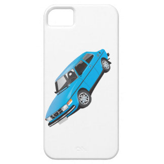 Saab 99 blått iPhone 5 fodraler