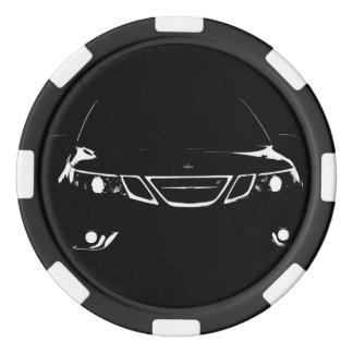 Saab pokerchiper poker marker