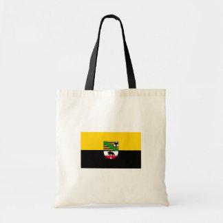 Sachsen-Anhalt Flagge Einkaufstasche