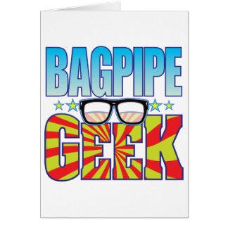 Säckpipe- Geek v4 Hälsningskort