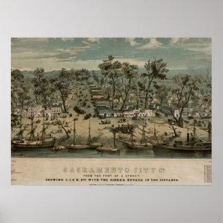 Sacramento 1850 poster
