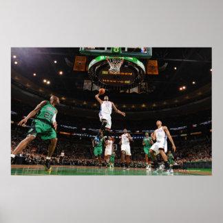 SACRAMENTO CA - FEBRUARI 7: Ron Artest #93 tryck Poster