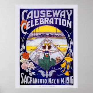 Sacramento Causewayfirande Poster