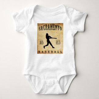 Sacramento Kalifornien baseball 1883 Tshirts